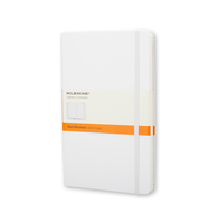 Moleskine - White Notebook Large Liniert