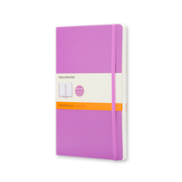 Moleskine - Classic Notebook Soft Large Orchidee Liniert