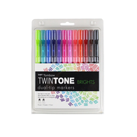 Tombow - Twintone Marker Dual-Tip Leuchtfarben