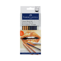 Faber Castell - Classic Sketch Set 6-teilig
