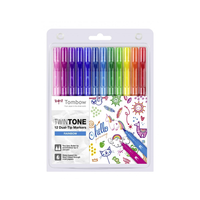 Tombow - Twintone Marker Dual-Tip Rainbow